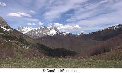 Picos Europe mountains in Leon - Picos de Europa mountains...