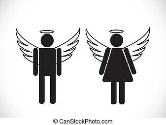 pictogram , άγγελος , εικόνα , σύμβολο , σήμα
