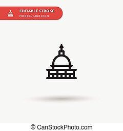 pictogram, 現代, editable, シンボル, ui, 網, ベクトル, 色, アイコン, antonelliana, stroke., icon., テンプレート, 完全, プロジェクト意匠, ビジネス, モグラ, モビール, element., あなたの, イラスト, 単純である