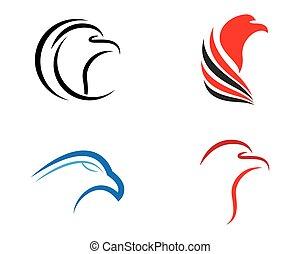 pictogram, adelaar, vector