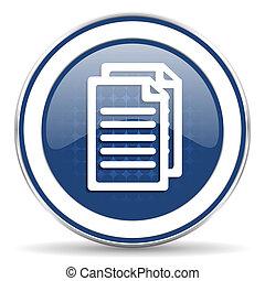 pictogram, document pagina's, meldingsbord