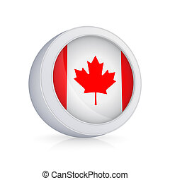 pictogram, flag., canadees