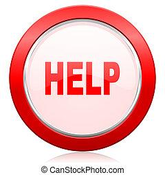 pictogram, helpen