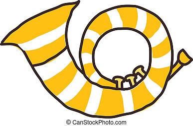 pictogram, hoorn