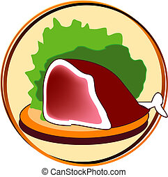 pictogram - meat - pict - meat