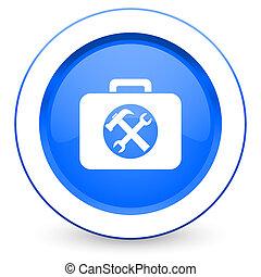 pictogram, meldingsbord, toolkit, dienst