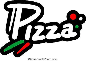 pictogram, pizza