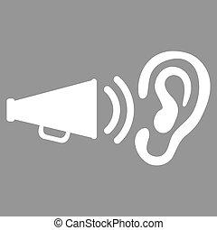 pictogram, set, advertentie, zakelijk, bicolor