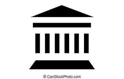 Pictogram - Temple, World heritage - Object, Icon, Symbol -...