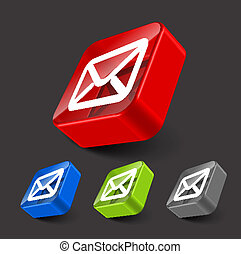pictogram, vector, email