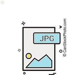 pictogram, vector, ontwerp, bestand, formaat