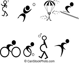 Pictograms of events