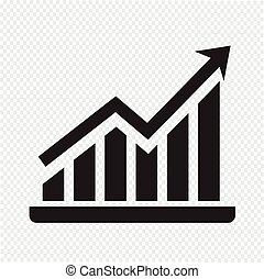 Pictograph graph icon