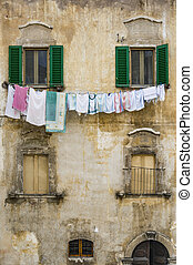 pictorial old building of Italian villages