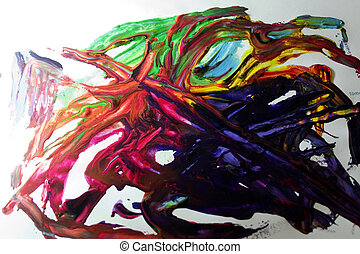 Picture color painting