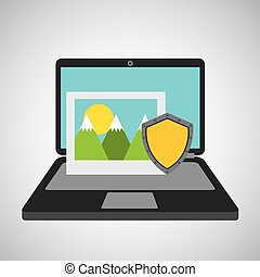 picture data protection cyber security