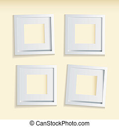Picture frame beige background
