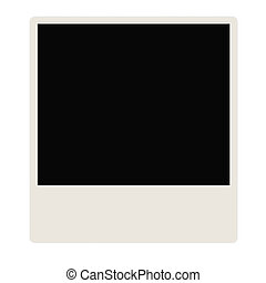 Picture Frame - 3D Illustration. Classic picture frame of...