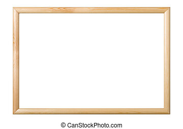 Picture frame isolated, clipping path.