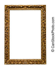 picture frame. Isolated over white