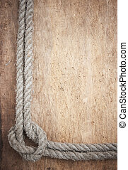 frame of rope