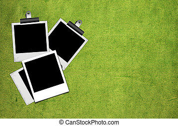 Picture frame on the Paper texture background