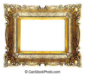 Picture Frame - Old Gold Picture Frame
