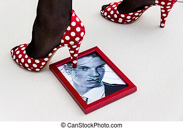 picture frames and high heels - zerbrochner photo frames and...