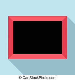 Picture icon, flat style