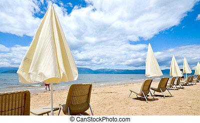 Beach on a Prespa Lake, Macedonia - picture of a Beach on a ...