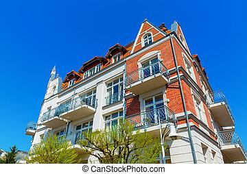picture of a historic villa in Sassnitz, Ruegen, Germany