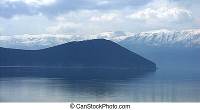 Lake Prespa - picture of a Lake Prespa in macedonia