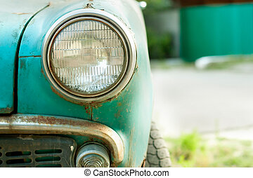 Picture of a old car