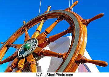 steering wheel - picture of a steering wheel