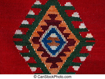 traditional textile colors of macedonia , texture - Picture...