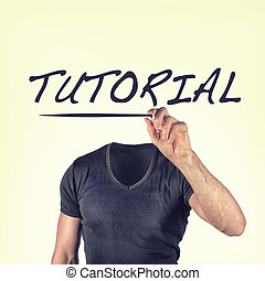 tutorial - picture of a tutorial concept