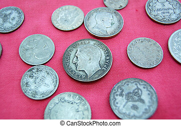 Vintage money from Balkans