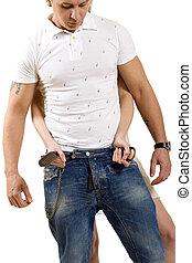 woman unbuckle man - picture of a woman unbuckle man\'s belt...