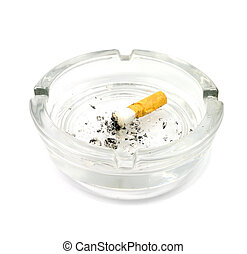 ashtray - Picture of ashtray with white background.
