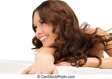 beautiful woman in spa salon - picture of beautiful woman ...