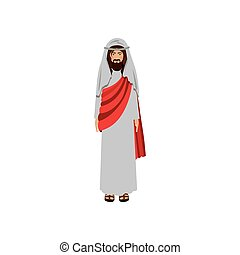 picture of christ with tunic