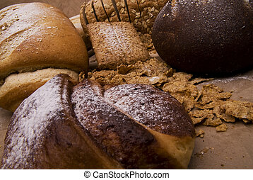 picture of different kinds of salt and sweet cereals