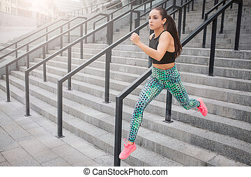 Running model  Artist\'s wooden model in a running pose