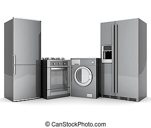 household appliances - picture of household appliances on a ...