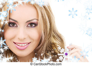 lovely fairy with magic wand - picture of lovely fairy with ...