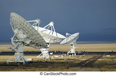 Landscape of Very Large Array of Radio Telescopes