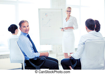 businessman on business meeting in office
