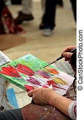Picture painting