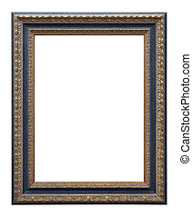 Picture photo frame to put your own pictures in (isolated ...
