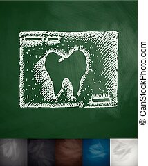 picture tooth icon